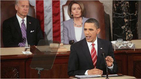 Obama đọc thông điệp liên bang tại Quốc hội Mỹ ngày 27/1 (giờ địa phương)