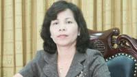 Bà Ma Thị Nguyệt, Phó Chủ tịch UBND tỉnh Thái Nguyên. (Ảnh: Dantri)