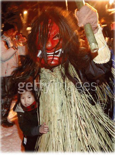 Một bé gái bị quỷ dọa (Ảnh: Getty Images)