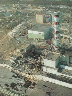 Chernobyl sau thảm hoạ.