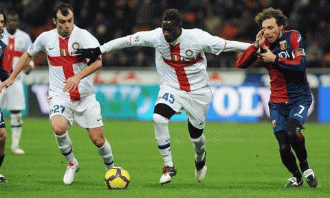 Inter đã chơi một trận bế tắc. Ảnh: La Presse