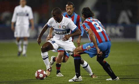 Inter tiếp tục thể hiện phong độ bạc nhược. Ảnh: Getty Images