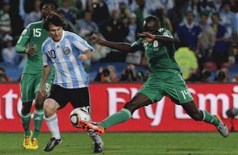 Màn trình diễn của Messi chưa thực sự hoàn hảo. Ảnh: Getty Images