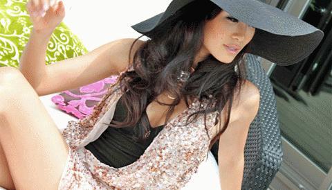HH Nhật 2010: Phụ nữ vẫn sang trọng khi mặc đồ lót!