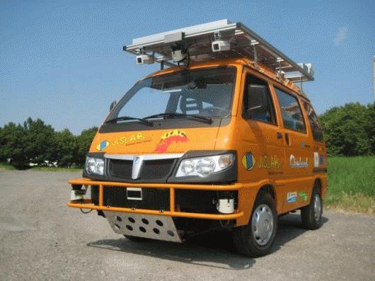 Chiếc xe bán tải không người lái (Nguồn: Gizmag)