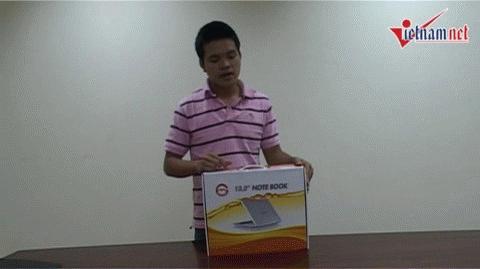 Đập hộp Laptop 3G siêu rẻ