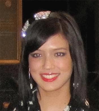 Nicole John khi còn đi học ở trường Quốc tế   Bangkok. (Ảnh: Bangkok Post)