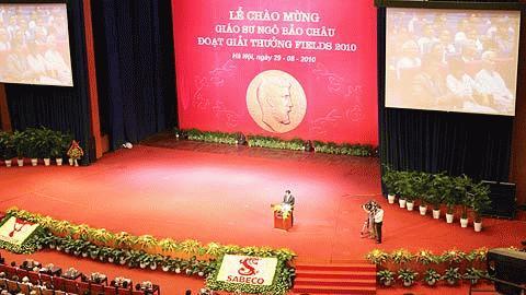 Thủ tướng Nguyễn Tấn Dũng đang phát biểu. Ảnh: Tú  Uyên