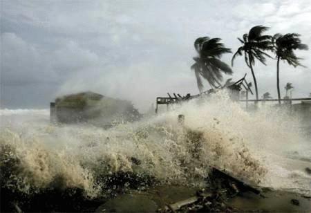 Hiện tượng nước biển dâng sẽ làm ngập lụt nhiều vùng đất thấp trên thế giới. Ảnh: Internet.