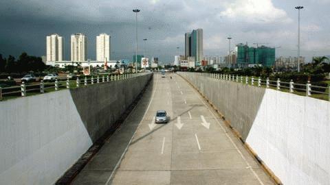 Hầm vượt cơ giới hiện đại bậc nhất Việt Nam