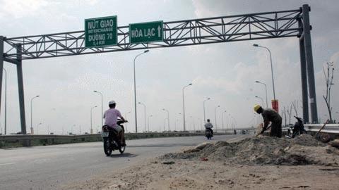 Đại lộ Thăng Long đi hòa Lạc - Sơn Tây dài 28km