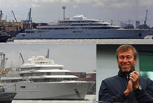 Abramovich cùng những thú vui đắt tiền khác của mình, ngoài bóng đá
