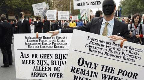 Hình ảnh châu Âu nóng ran vì biểu tình