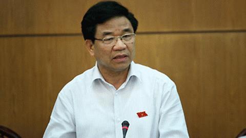 Chủ nhiệm Ủy ban Kinh tế Hà Văn Hiền. Ảnh: LN