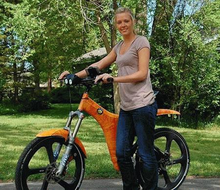 Mỹ trình làng chiếc xe đạp điện nhanh nhất thế giới