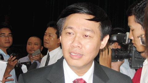 Ông Vương Đình Huệ: Kiểm toán Nhà nước từng lên kế hoạch kiểm toán từ khi Vinashin còn chưa nâng cấp thành Tập đoàn. Ảnh: VietNamNet