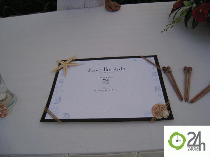Dấu ấn ngày cưới...
