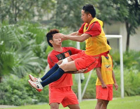 Đội tuyển Việt Nam sẵn sàng nghênh đón các đối thủ tại VFF Sơn Hà Cup.