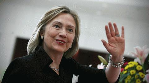 Ngoại trưởng Mỹ Hillary Clinton Ảnh Reuters