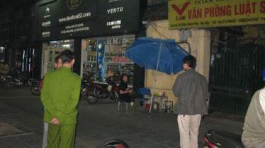 Nhà riêng của ông Hà Vũ tại Hà Nội (Ảnh VietNamNet)