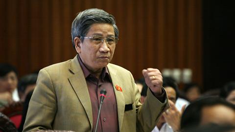 ĐBQH Nguyễn Minh Thuyết. Ảnh: Hoàng Long