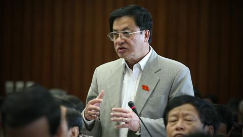 Chủ nhiệm Văn phòng QH Trần Đình Đàn: Thủ tướng Nguyễn Tấn Dũng sẵn sàng đối thoại với đại biểu. Ảnh: TC