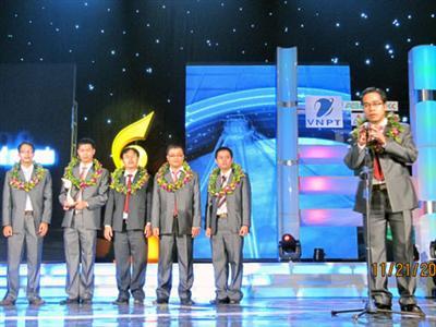 Giải nhất duy nhất của Giải thưởng NTĐV lĩnh vực CNTT-TT thuộc về sản phẩm số hoá tư duy con người. Ảnh:VnMedia.