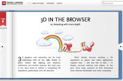 """Giao diện và nội dung """"cuốn sách""""thân thiện và dễ hiểu.Ảnh minh họa: Mashable.com"""